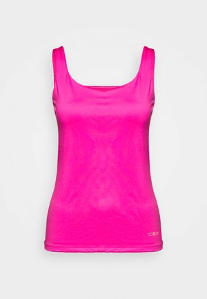 WOMAN DOUBLE - T-shirt sportiva - bouganville
