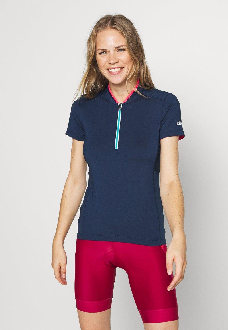CMP - WOMAN BIKE - T-Shirt print - blue