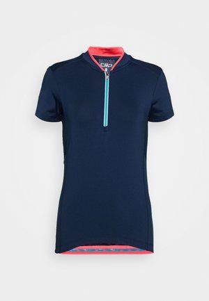 WOMAN BIKE - T-Shirt print - blue