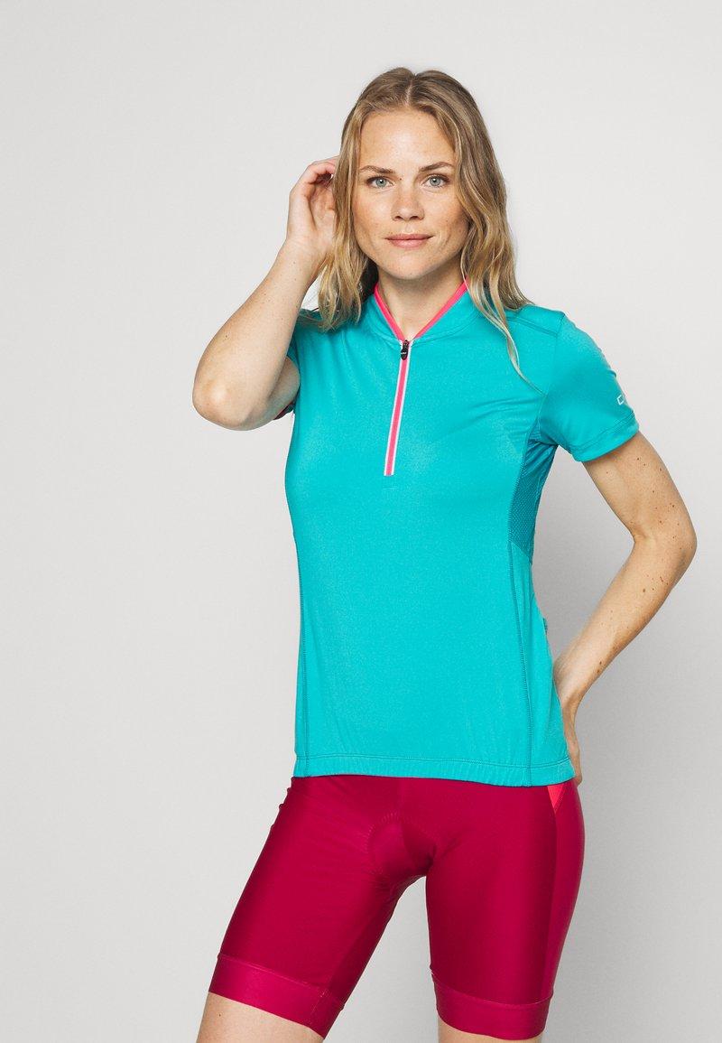 CMP - WOMAN BIKE - Print T-shirt - ceramic