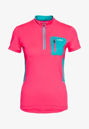 WOMAN FREE BIKE - Sports shirt - gloss