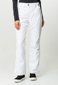 CMP - WOMAN SKI PANT - Pantaloni da neve - bianco - 0