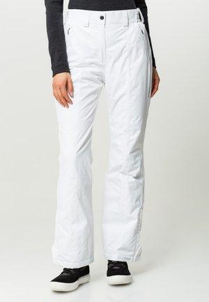 WOMAN SKI PANT - Skibroek - bianco