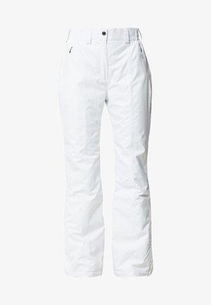 WOMAN SKI PANT - Talvihousut - bianco