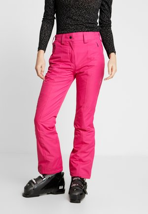 WOMAN SKI PANT - Pantalon de ski - strawberry