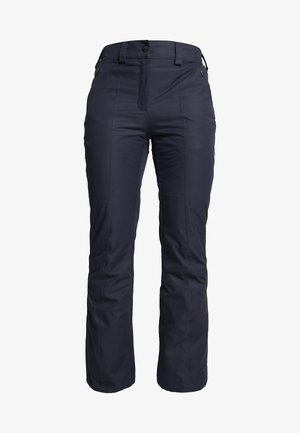 WOMAN SKI PANT - Pantalon de ski - black/blue