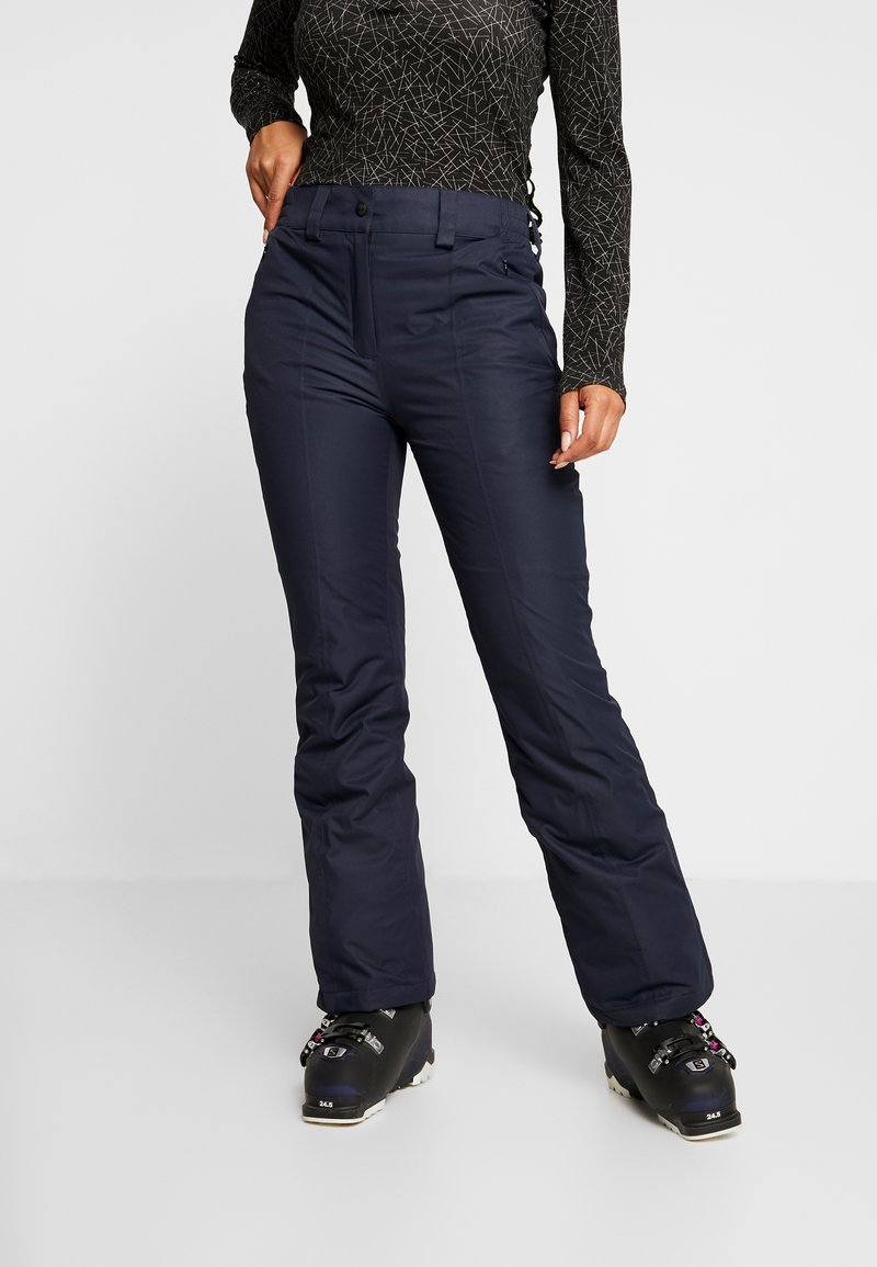CMP - WOMAN SKI PANT - Skibroek - black/blue