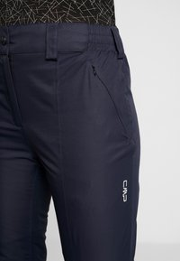CMP - WOMAN SKI PANT - Skibroek - black/blue - 3
