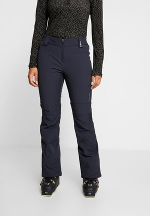 PANT - Skibroek - black/blue
