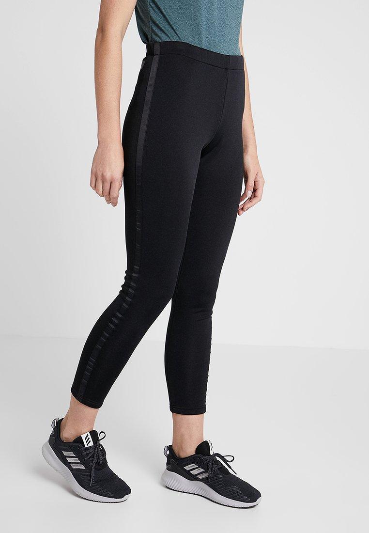CMP - WOMAN LONG PANT - Punčochy - nero