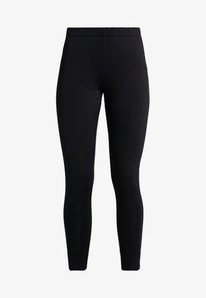 WOMAN LONG PANT - Tights - nero