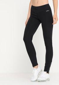 CMP - WOMAN LONG - Leggings - nero - 0