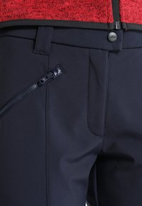 CMP - WOMAN LONG PANT - Stoffhose - black blue - 4