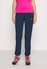 CMP - WOMAN LONG PANT - Pantalon classique - blue - 0