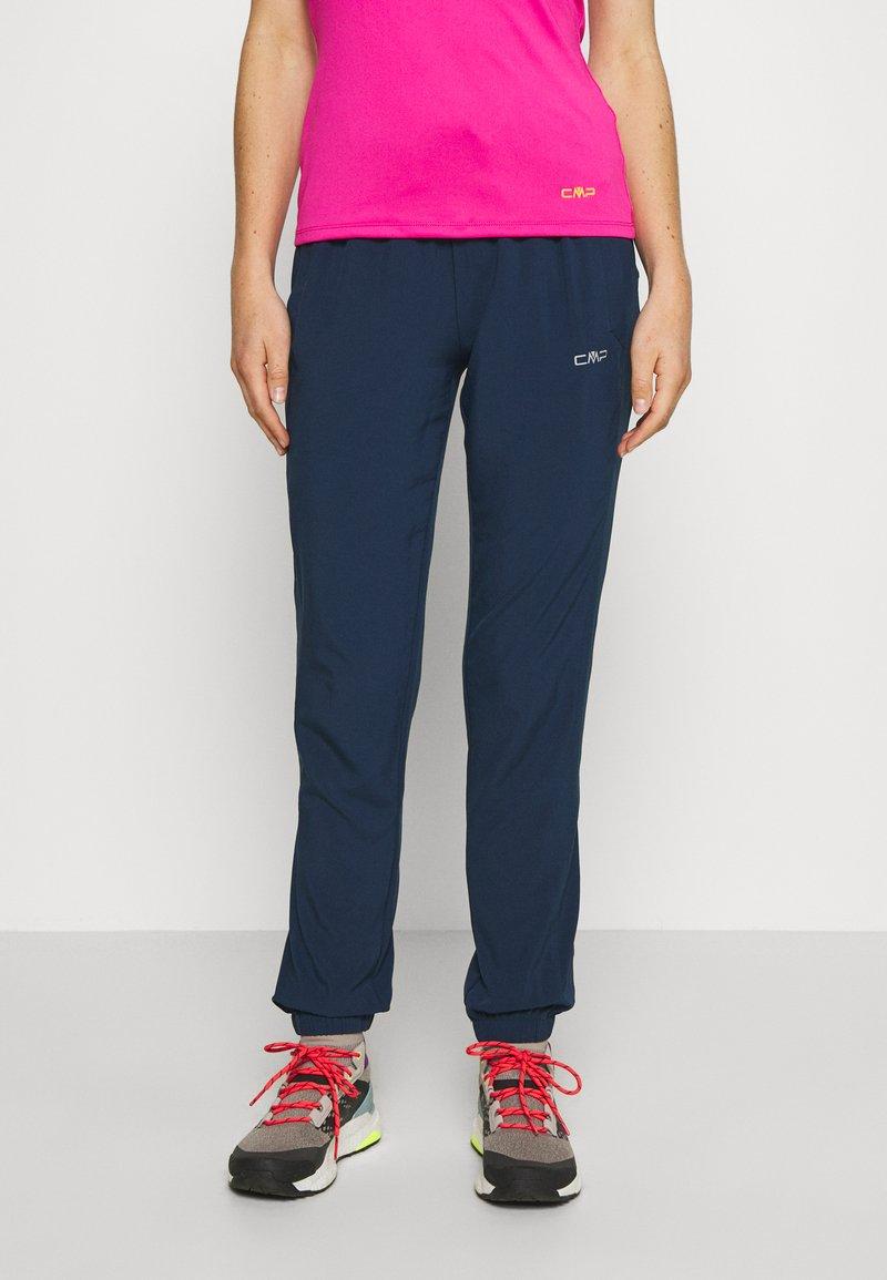 CMP - WOMAN LONG PANT - Pantalon classique - blue