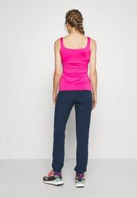 CMP - WOMAN LONG PANT - Pantalon classique - blue - 2