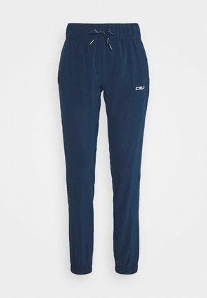 WOMAN LONG PANT - Pantaloni - blue