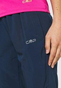 CMP - WOMAN LONG PANT - Pantalon classique - blue - 5