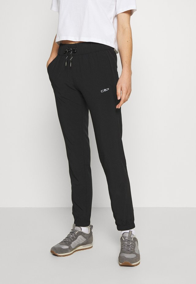 WOMAN LONG PANT - Bukser - nero