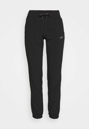 WOMAN LONG PANT - Trousers - nero