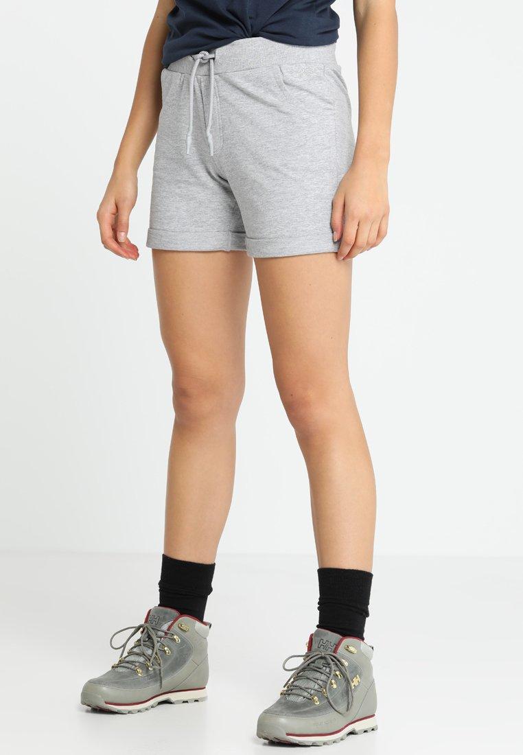 CMP - WOMAN BERMUDA - kurze Sporthose - grigio melange