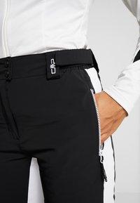 CMP - WOMAN PANT - Zimní kalhoty - nero - 6