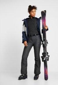 CMP - WOMAN PANT - Ski- & snowboardbukser - nero melange - 1