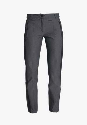 WOMAN LONG PANT - Outdoor trousers - antracite melange