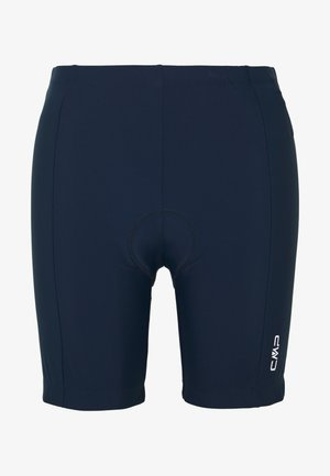 WOMAN BIKE SHORT PANT - Leggings - blue