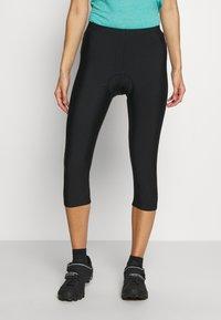 CMP - WOMAN PANT 3/4 BIKE - 3/4 sports trousers - nero - 0