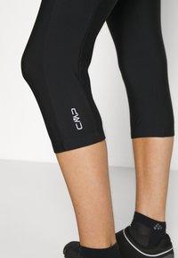 CMP - WOMAN PANT 3/4 BIKE - 3/4 sports trousers - nero - 4