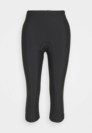 WOMAN PANT 3/4 BIKE - 3/4 sports trousers - nero