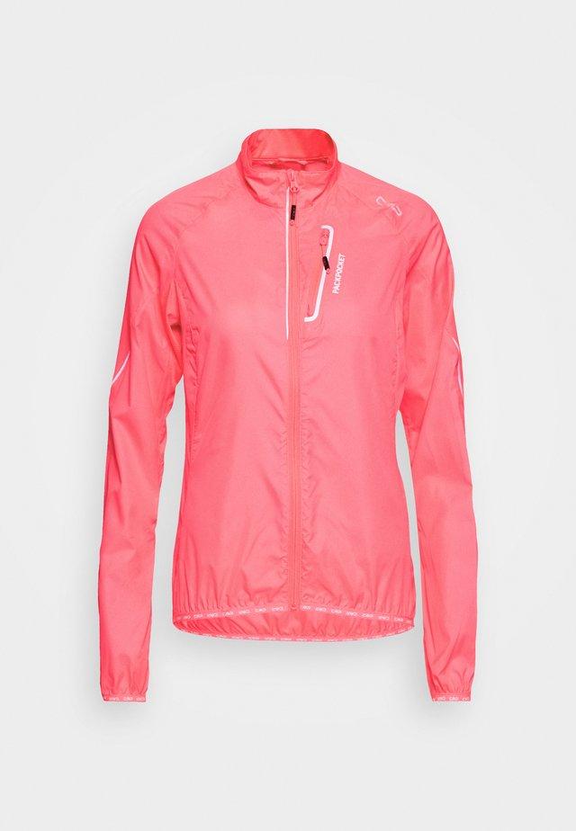 WOMAN TRAIL JACKET - Běžecká bunda - gloss