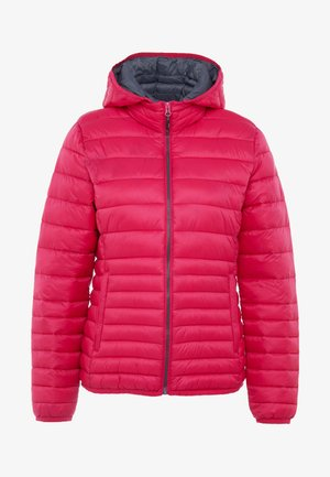 WOMAN JACKET ZIP HOOD - Winter jacket - rhodamine