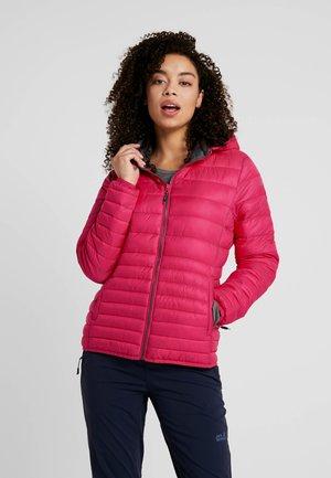 WOMAN JACKET ZIP HOOD - Winter jacket - rhodamine