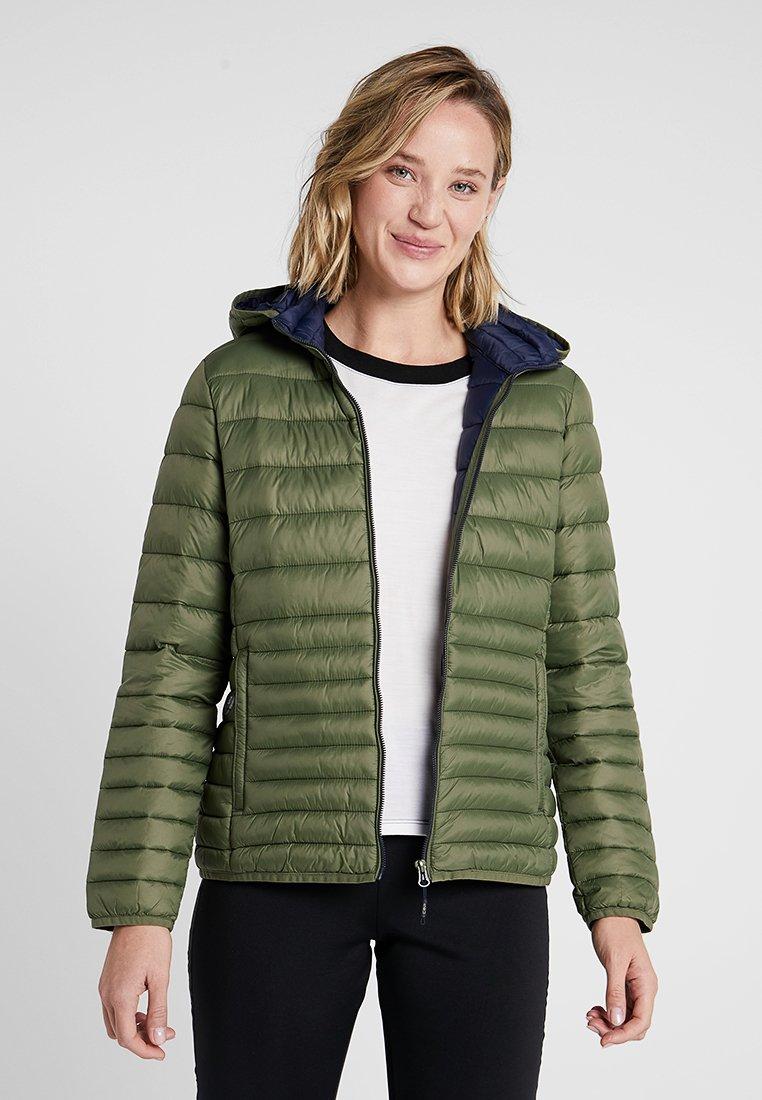 CMP - WOMAN JACKET ZIP HOOD - Winter jacket - loden