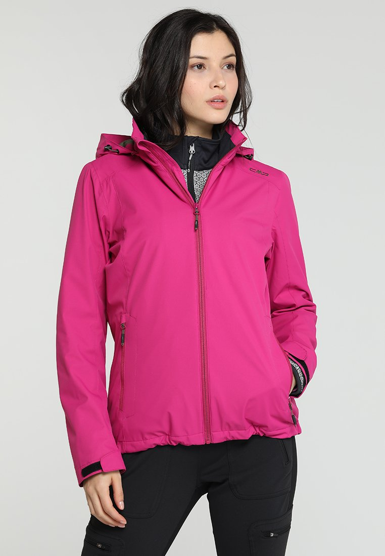 CMP - WOMAN JACKET ZIP HOOD - Outdoor jakke - geraneo