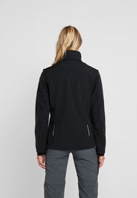 CMP - WOMAN JACKET ZIP HOOD - Veste softshell - nero - 3
