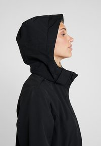 CMP - WOMAN JACKET ZIP HOOD - Veste softshell - nero - 4