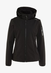 CMP - WOMAN JACKET ZIP HOOD - Veste softshell - nero - 6