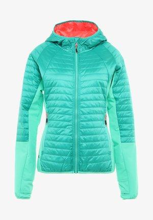 WOMAN JACKET FIX HOOD - Outdoor jacket - mint