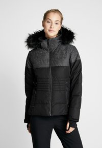 CMP - WOMAN JACKET ZIP HOOD - Skijakke - nero - 0