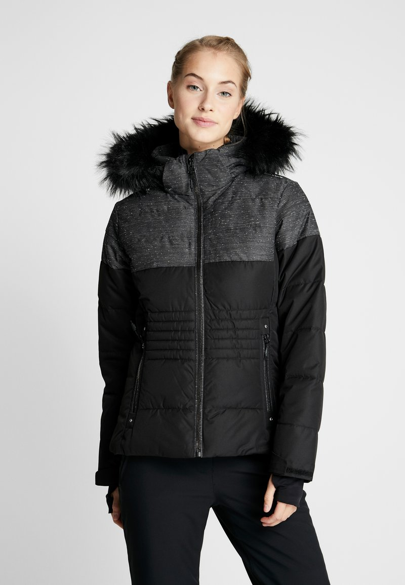 CMP - WOMAN JACKET ZIP HOOD - Skijakke - nero