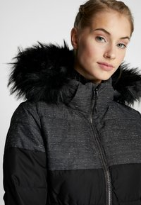 CMP - WOMAN JACKET ZIP HOOD - Skijakke - nero - 5