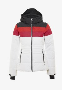CMP - WOMAN JACKET ZIP HOOD - Ski jas - white - 4
