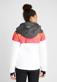 CMP - WOMAN JACKET ZIP HOOD - Ski jas - white - 2