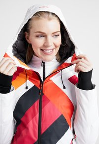 CMP - WOMAN JACKET FIX HOOD - Skijakke - bianco - 6