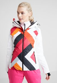 CMP - WOMAN JACKET FIX HOOD - Skijakke - bianco - 0