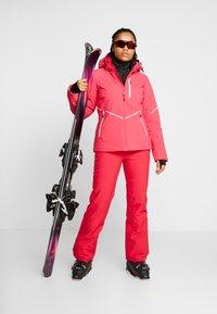 CMP - WOMAN JACKET ZIP HOOD - Skijakker - rhodamine - 1