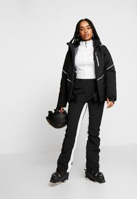 CMP - WOMAN JACKET ZIP HOOD - Ski jas - nero - 1
